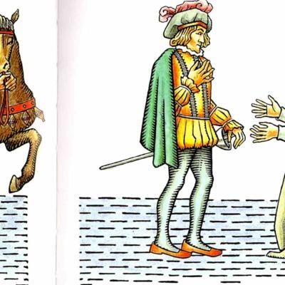 Primera ilustración del acto XI de la edición de Madrid, 2005
