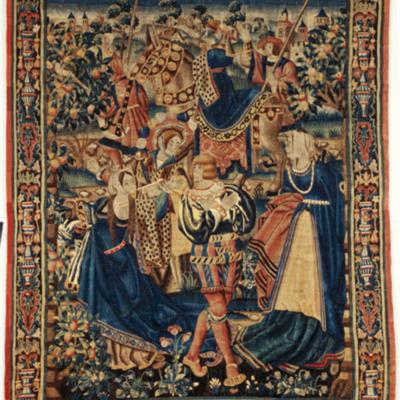 Tapiz del hijo pródigo, por desconocido (1525, c.)