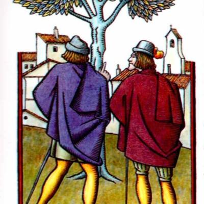 Primera ilustración del acto IX de la edición de Madrid, 2005