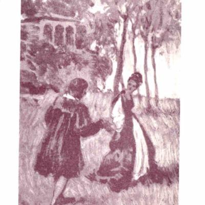 Ilustración del acto I de la edición de Barcelona (1961)
