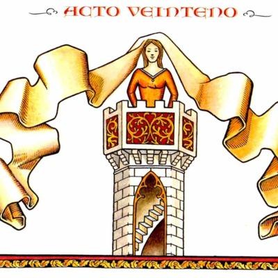Primera ilustración del acto XX de la edición de Madrid, 2005
