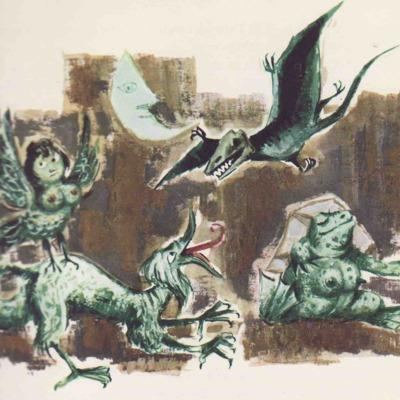 Ilustración primera del acto XII de la edición de Barcelona (1968)