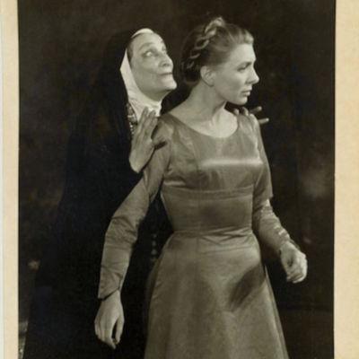 Representación de Théatre Sarah Bernhardt, París, 1958