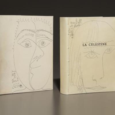 Grabados  inspirados en La Celestina de la Suite 347, de Picasso (1968)