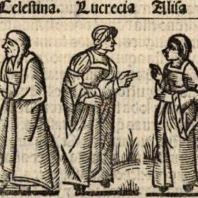 Imagen del acto IV de la edición de Medina del Campo (1536)