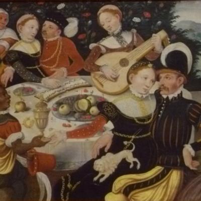 El hijo pródigo, de artista alemán desconocido (1550, c.)