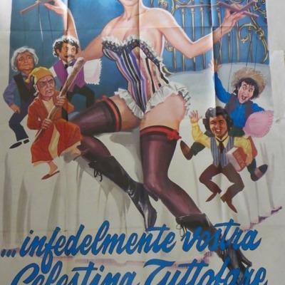 Cartel anunciador de la película de Franco (1974)