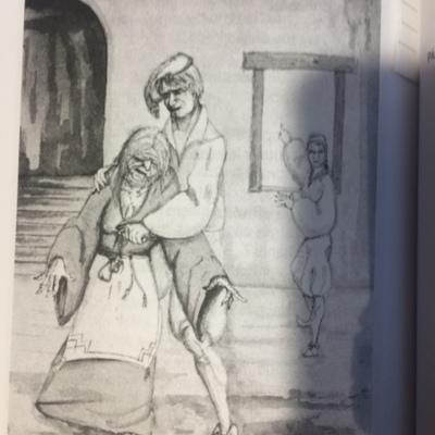 Ilustración segunda del acto 12 de la edición de Madrid, 2010