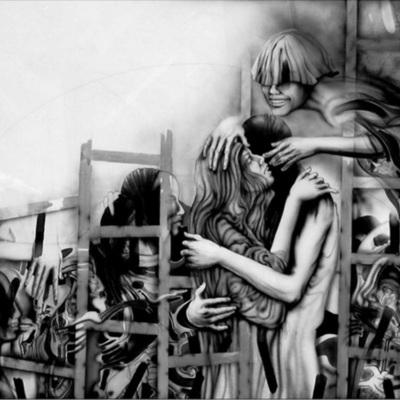 Cupido y la Celestina en el gallinero, de de Bairos Moura (1998)