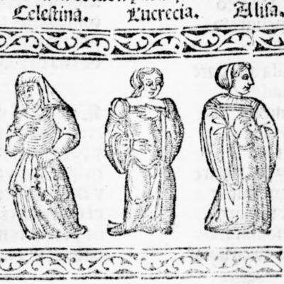 Ilustración del acto IV de la edición de Salamanca (1540)