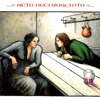 Primera ilustración del acto XV de la edición de Madrid, 2005
