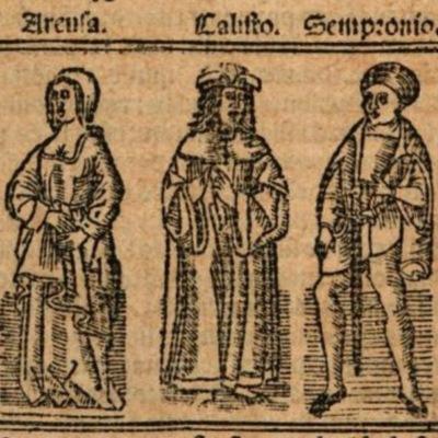 Imagen del acto VIII de la edición de Burgos (1531)