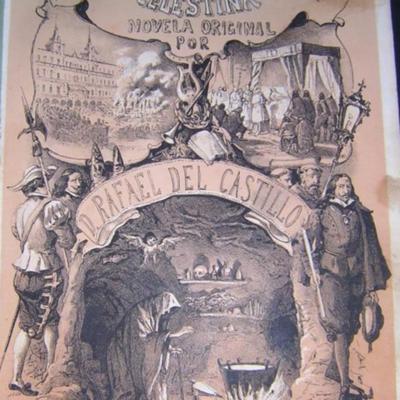 Portada de <em>Los polvos de la madre Celestina</em> (novela de Rafael del Castillo) (1862)