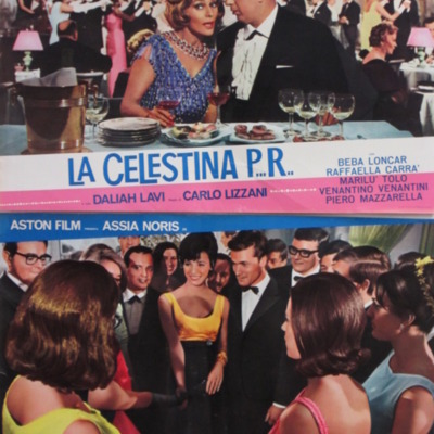 Fotocromo 5 de la película La Celestina P...R...de Lizzani.
