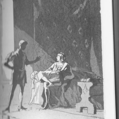 Ilustración del acto I de la edición de Londres (1973)