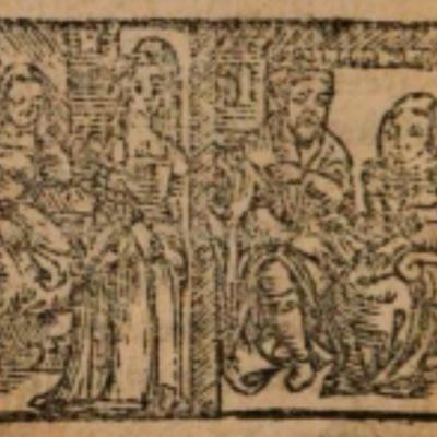 Imagen del acto XVIII de la edición de Salamanca (1590)