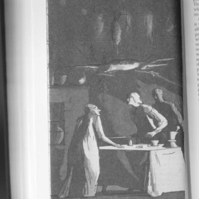 Ilustración del acto XII de la edición de Londres (1973)