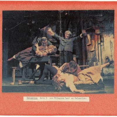 Representación del Teatro Reina Victoria, Madrid, 1967