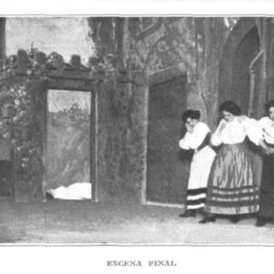 Representación de Madrid, 1909