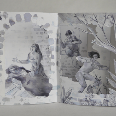 Libro carrusel de La Celestina, de Valle (2017)