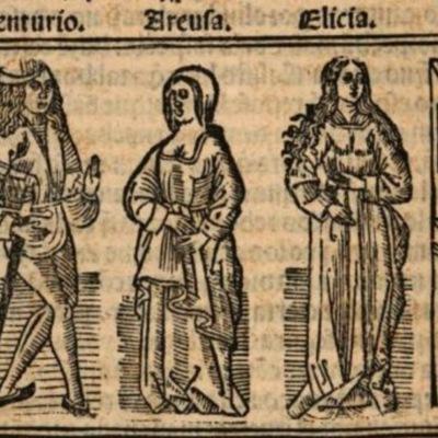 Imagen del acto XVIII de la edición de Burgos (1531)