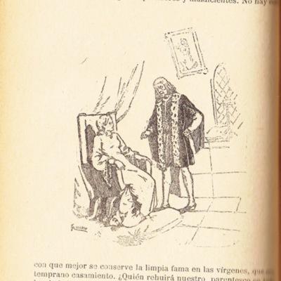 Ilustración del acto XVI de la edición de Barcelona (1883)
