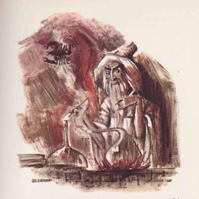Ilustración tercera del acto VI de la edición de Barcelona (1968)
