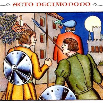 Primera ilustración del acto XIX de la edición de Madrid, 2005
