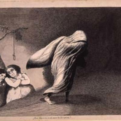 Horrors d&#039;una guerra: &quot;¿Que llevará en el saco la Celestina? ...&quot;, de Sancho Piqué (1939)<br /> <br />