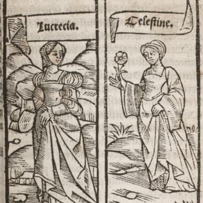 Ilustración del acto IV de la edición de París (1527)