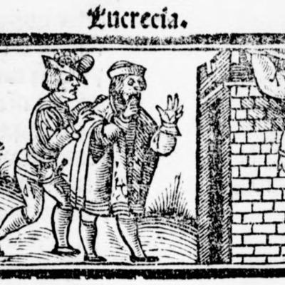 Ilustración del acto XX de la edición de Salamanca (1540)