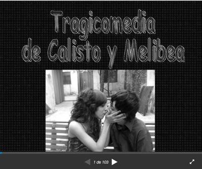 Presentación de La Celestina en diapositivas, de Liss Rodriguez (2010)