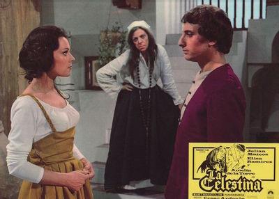 Fotocromo 4 de la película La Celestina de Ardavín