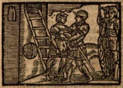 Ilustración del acto XIV de la edición de Estella (1557)