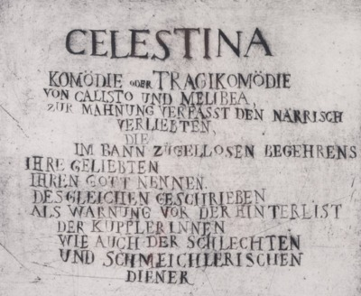 Ilustraciones para La Celestina, de Quevedo (1967)