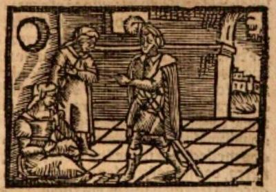 Ilustración del acto X de la edición de Estella (1557)