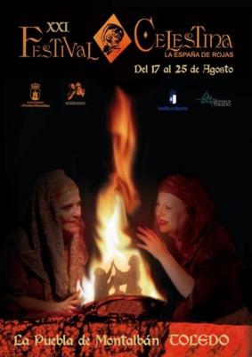 Cartel del Festival de La Celestina, Puebla de Montalbán, 2019<br /> <br />