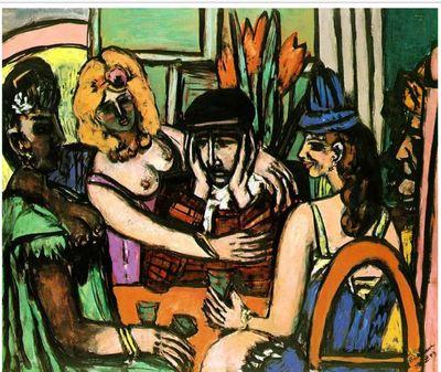 El hijo pródigo, de Beckmann (1949)