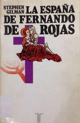 Portada de La España de Fernando de Rojas de Gilman