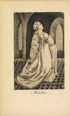 Ilustración del acto I de la edición de París, 1922
