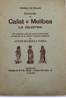 Portada de la edicion de Vda. de Badia, Barcelona (1914)