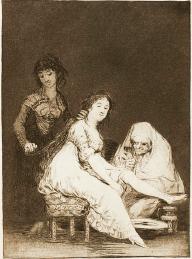 Ruega por ella, de Goya (1797)