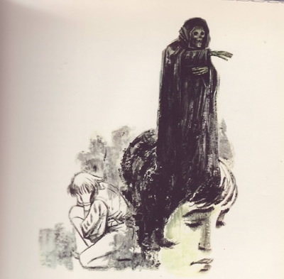 Ilustración segunda del acto XIII de la edición Barcelona (1968)