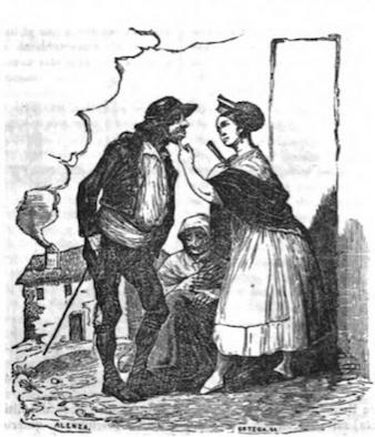 Ilustración de prensa, Semanario Pintoresco Español (1838)