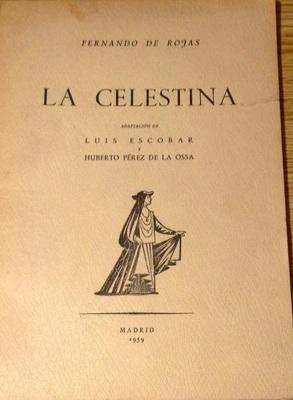 Portada de la edición de Artes Gráficas Arges, 1959