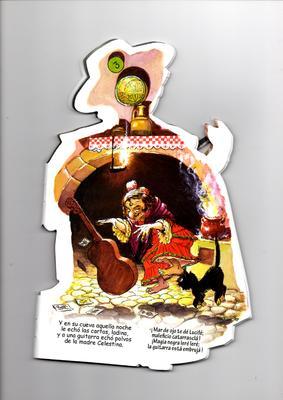 La guitarra embrujada de Currito el cantaor, cómic de Ferrándiz (1961 c.)