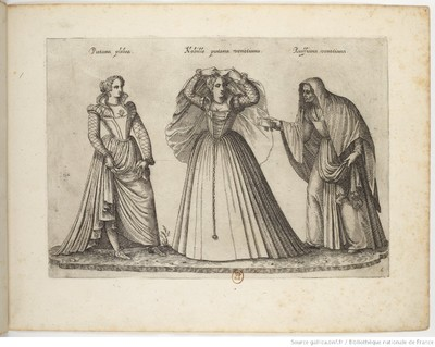 Alcahueta veneciana, de Boissard (1581)