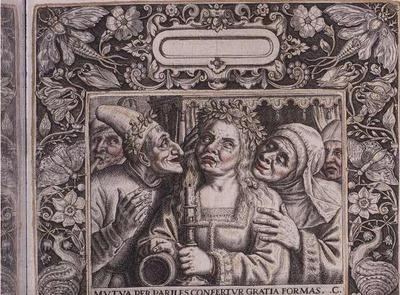 Ilustración del libro de Emblemata Nobilitati en Vvlgo, de Bry (1593)