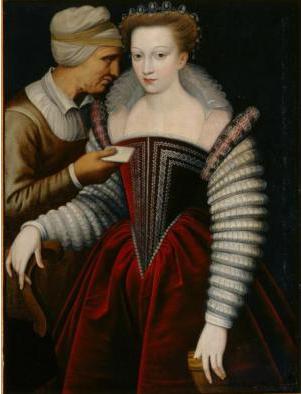 Carta de amor (Alcahueta), de Anónimo (1550 c)